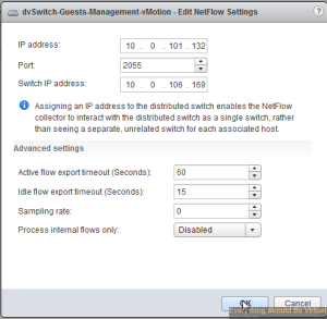 Collecting Netflow and Sending to Solarwinds NTA